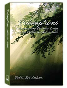 REDEMPTIONS: Contemporary Chassidic Essays on the Parsha and the Festivals by Rabbi Zvi Leshem
